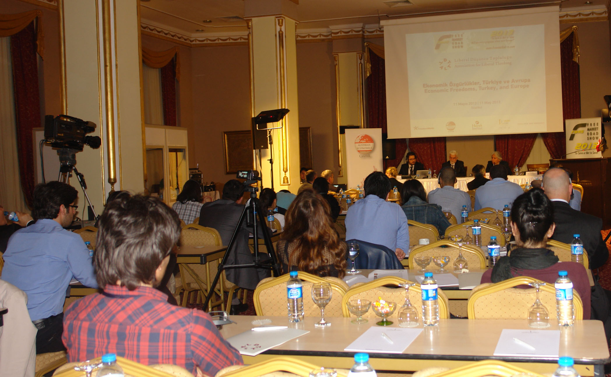 Free Market Road Show, 11 May 2013, Istanbul