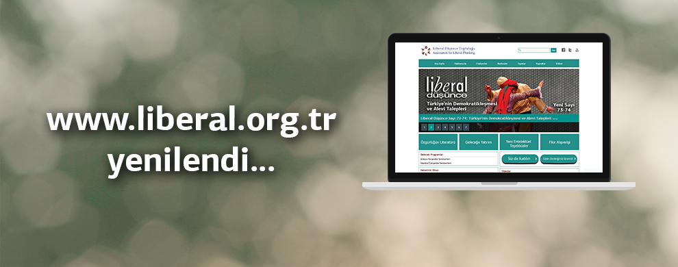 Liberal.org.tr lights up with a new design