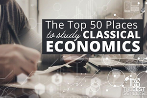 ALT ranked among the Top 50 Places to Study Classical Economics