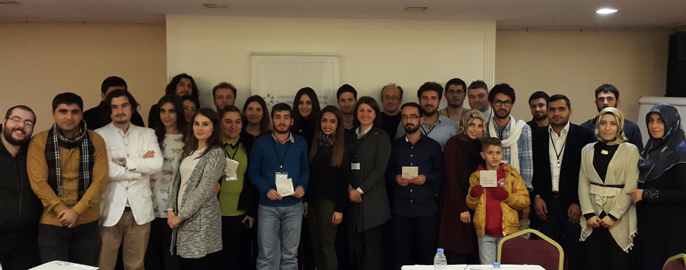 Liberty Academy on Foundation for a Free Society is held in Trabzon city